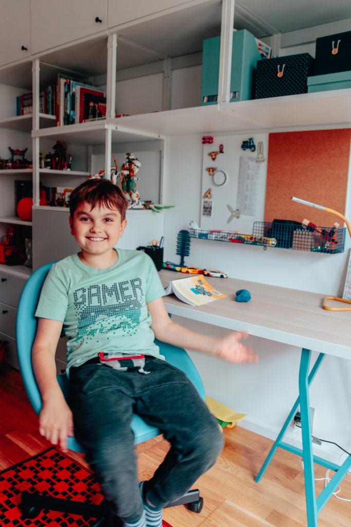 biurko dla chłopca