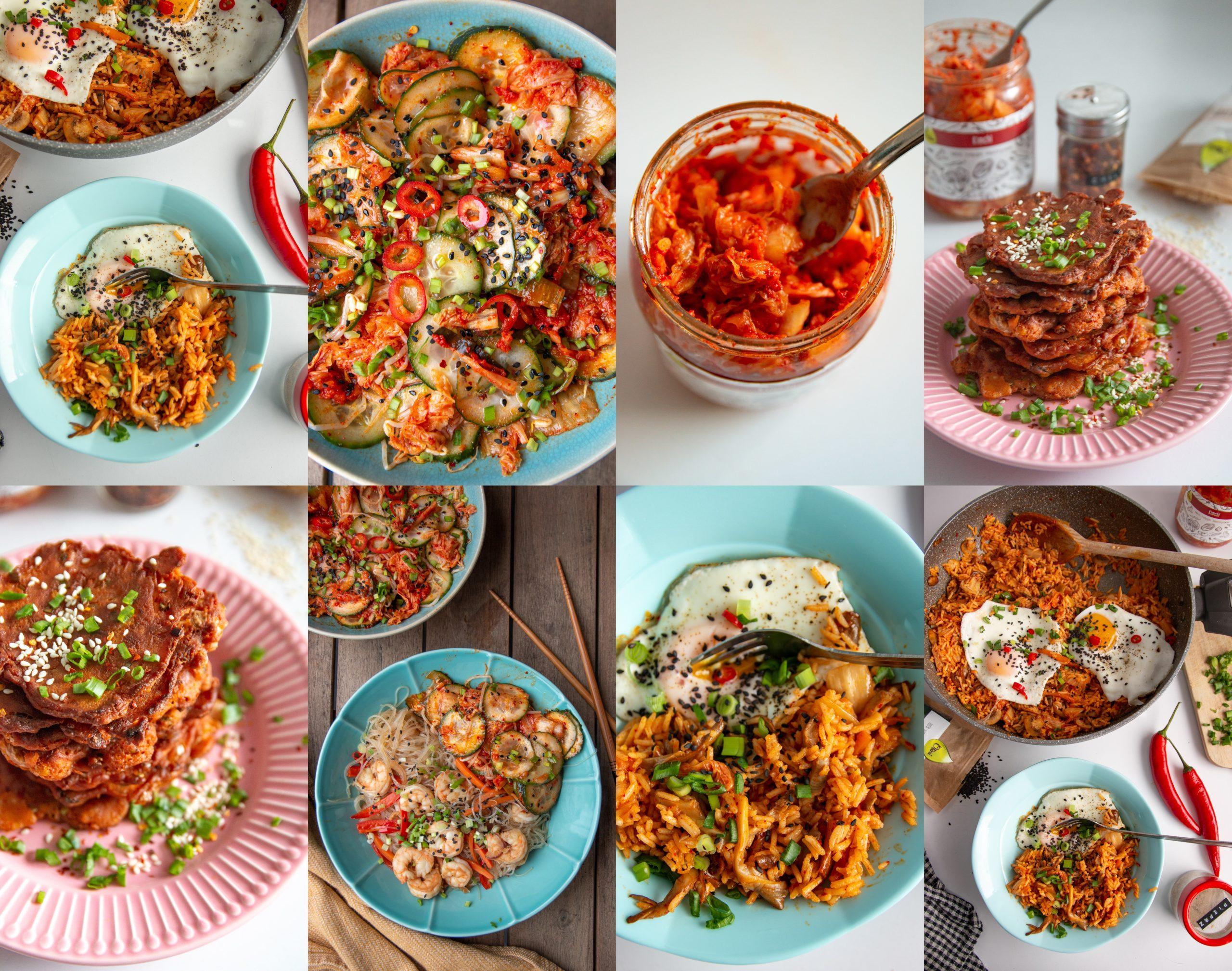 co zrobić z kimchi